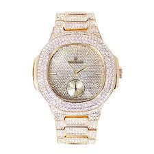 Hip Hop jewelry watch