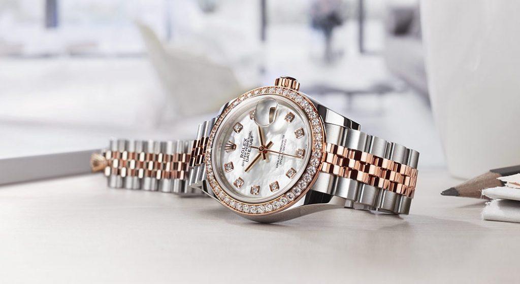 Rolex bust down watch
