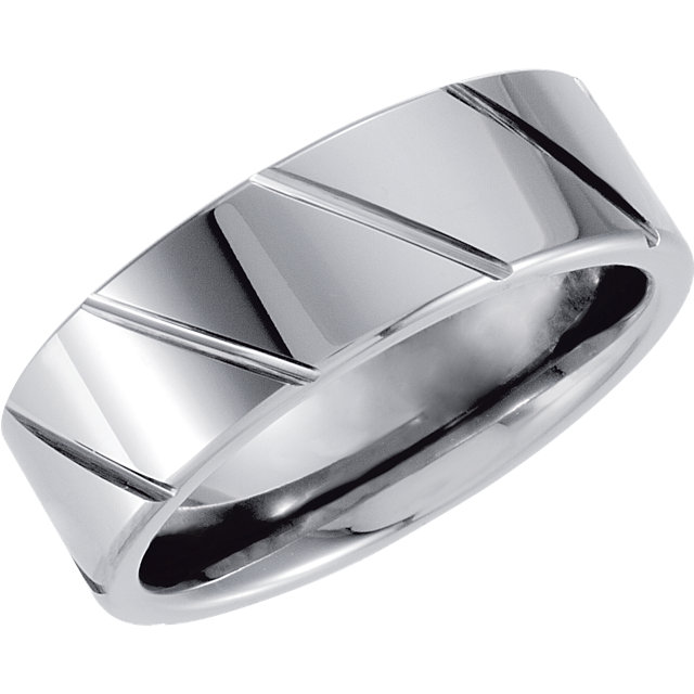 Titanium Oxidized Band